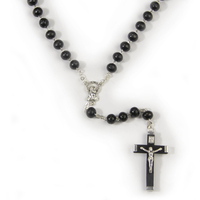 Rosary Beads Wooden 8mm - Black
