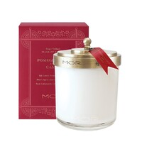 MOR Scented Home Library Fragrant Candle - Pomegranate and Cassis