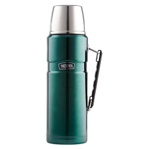 Thermos Stainless King Insulated Flask 2L Limited Edition Green