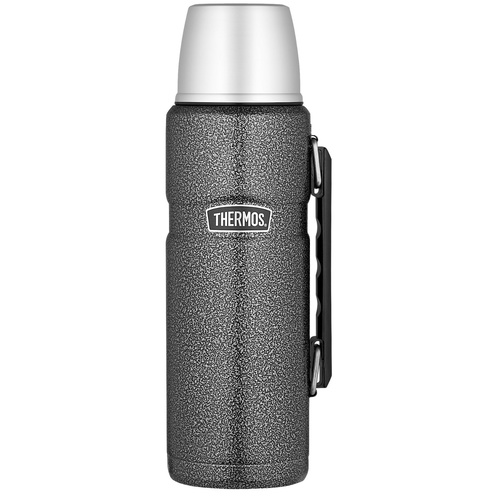 Thermos Stainless King Vacuum Flask 2L Hammertone