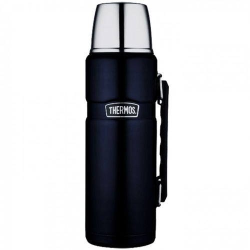 Thermos Stainless King Vacuum Flask 2L Midnight Blue