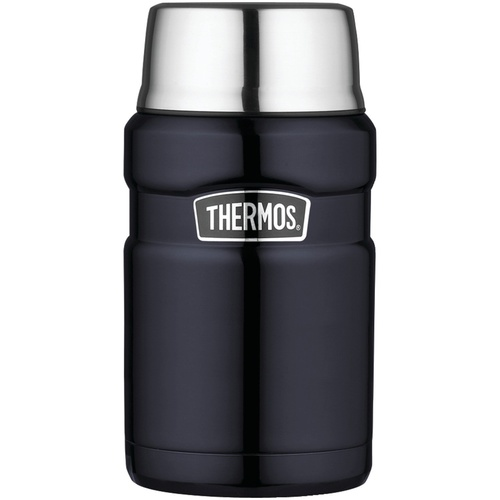 Thermos Stainless King Food Jar 710ml Midnight Blue