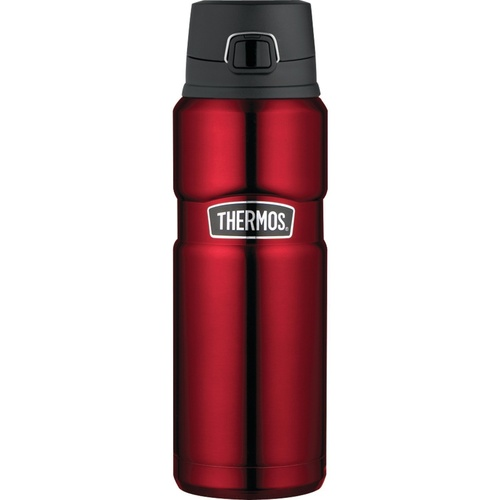 Thermos Stainless King Vacuum Drink Bottle 710ml Red