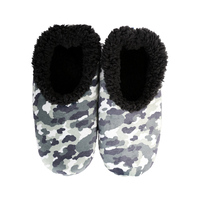 Slumbies Mens Camo - Grey