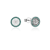Disney Couture Kingdom - Frozen 2 - May Birthstone Snowflake Stud Earrings