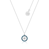 Disney Couture Kingdom - Frozen 2 - December Birthstone Snowflake Necklace