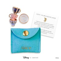 Disney X Short Story Trinkets Pouch - Alice In Wonderland Teacups