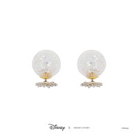 Disney x Short Story Bubble Earrings Elsa