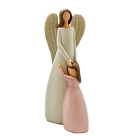 Guardian Angel With Girl Statue