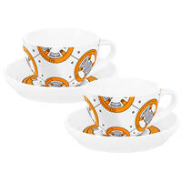 Star Wars Cup & Saucer - BB8 (Set of 2)