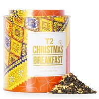 T2 Christmas Loose Leaf Gift Tin - Christmas Breakfast