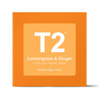 T2 Loose Tea 100g Box - Lemongrass and Ginger