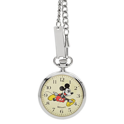 The Original Mickey Collection - Silver Pocket Watch 48mm
