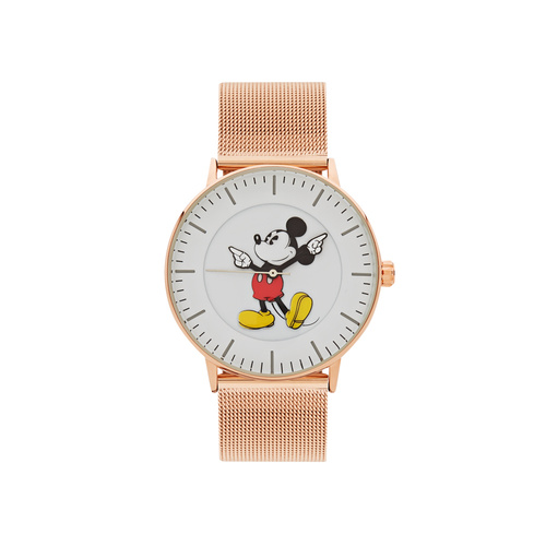 The Original Mickey Collection Watch - Rose Mesh 40mm
