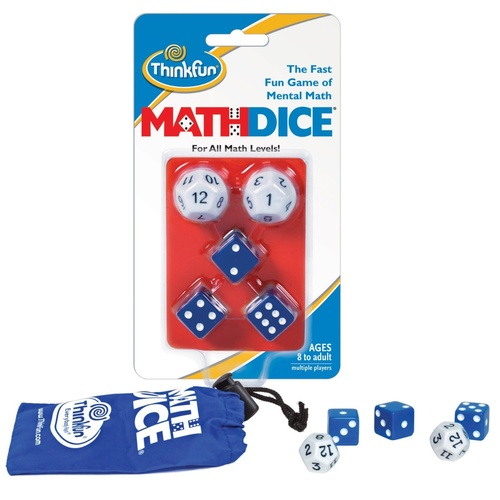 ThinkFun - Maths Dice