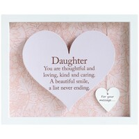 Sentiment Heart Frame By Arora - Daughter