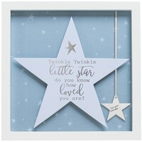 Sentiment Star Frame By Arora - Twinkle Twinkle