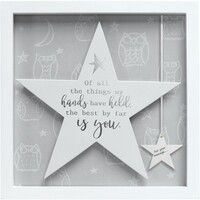 Sentiment Star Frame By Arora - Hands Held