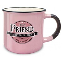 Retro Ceramic Mug - Best Friend