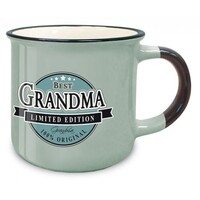 Retro Ceramic Mug - Best Grandma