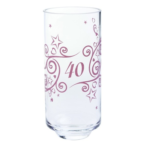 Dartington 40th Anniversary Celebration Vase