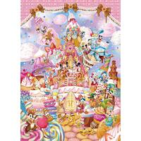 Tenyo Puzzle 266pc - Disney Mickey's Sweet Kingdom