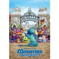 Tenyo Puzzle 500pc - Disney/Pixar Monsters University - Campus Life