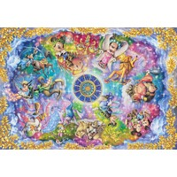 Tenyo Puzzle 1000pc - Disney Magical Signs