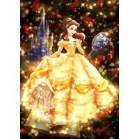Tenyo Puzzle 266pc - Disney Beauty & the Beast - Belle's Shining Love Story