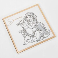 Disney Collectable By Widdop And Co Coaster - Princess Jasmine