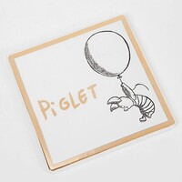 Disney Collectable By Widdop And Co Coaster - Piglet