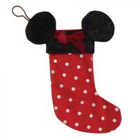 Disney Christmas By Widdop And Co Stocking: Minnie Mouse