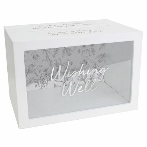 Wedding Wishing Well Box by Splosh