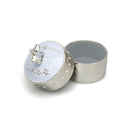 Whitehill Silver Plated Musical Box - Baby Blue Star
