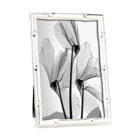 Whitehill Studio  - Silver Plated Photo Frame -  Bamboo 16cm x 20cm