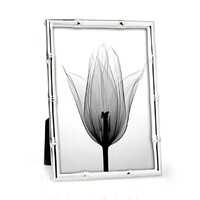 Whitehill Studio  - Silver Plated Photo Frame -  Bamboo 18cm x 23cm