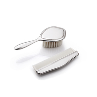 Whitehill Baby - Silverplated Child's Classic Brush And Comb 2 Piece Set