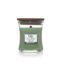 WoodWick Mini Candle - Hemp & Ivy