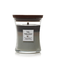 WoodWick Medium Trilogy Candle - Mountain Air