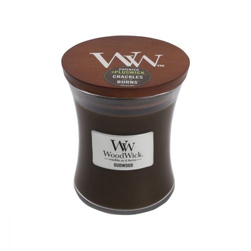 WoodWick Medium Candle - Oudwood
