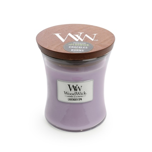WoodWick Medium Candle - Lavender Spa