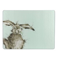 Pimpernel Wrendale Glass Worktop Saver - Hare