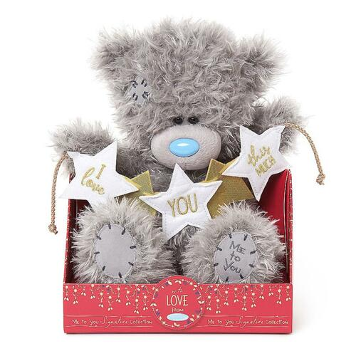 Tatty Teddy Me To You Signature Collection Bear - I Love You this much Bunting
