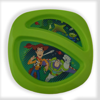 Tomy The First Years Toy Story Section Plate