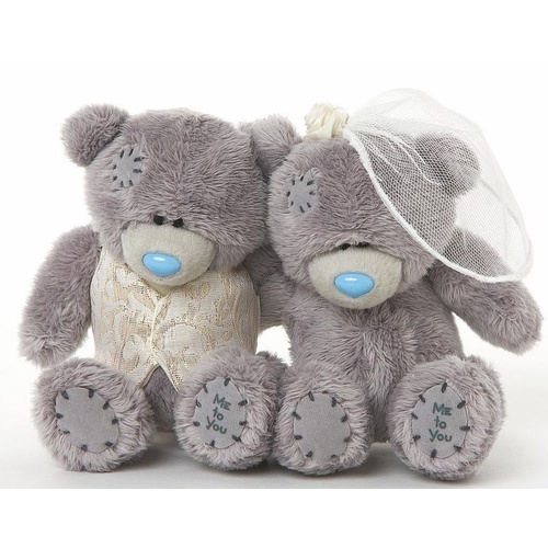 Tatty Teddy Me to You bear - Plush Bride and Groom 10cm