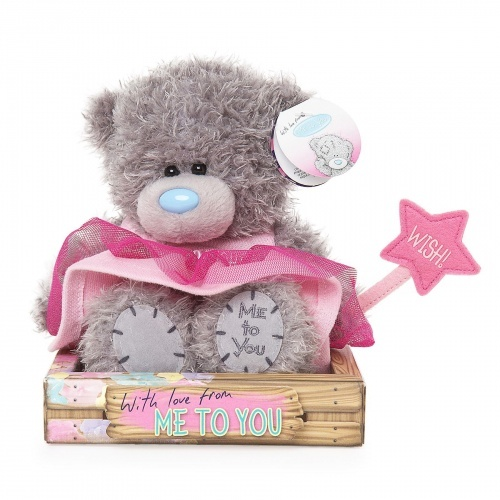 Tatty Teddy Me to You Bear - Granddaughter in a Pink Fairy Outfit