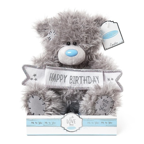Tatty Teddy Me to You Bear - Happy Birthday Banner