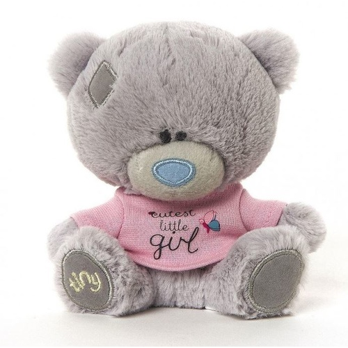 Tiny Tatty Teddy Me to You Baby - Cutest Little Girl Baby Safe Bear