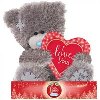 Tatty Teddy Me To You Christmas Bear - I Love You Heart