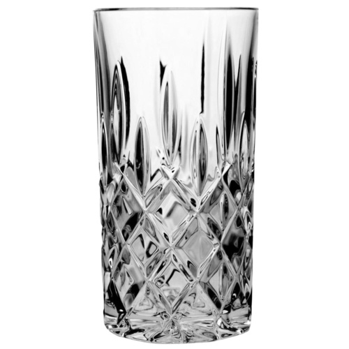 Bohemia Crystal Sheffield Hi Ball Tumbler 380ml Set of 6